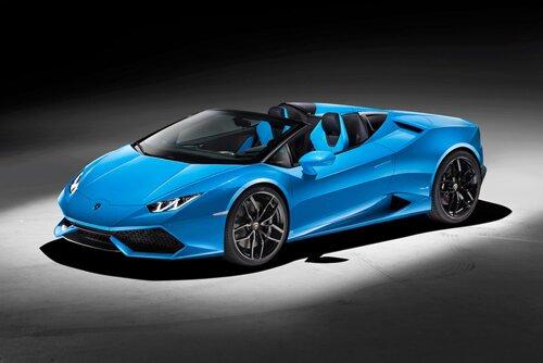 """Lamborghini Huracán Spyder – """"Gầm vang"""" với động cơ điện thủy lực"""