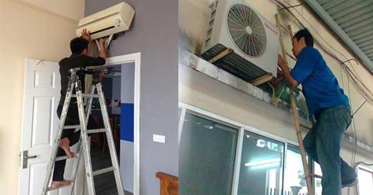 Lắp đặt điều hòa treo tường cần chuẩn bị những gì?