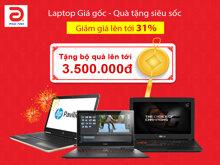 Laptop giá gốc – Quà tặng siêu sốc