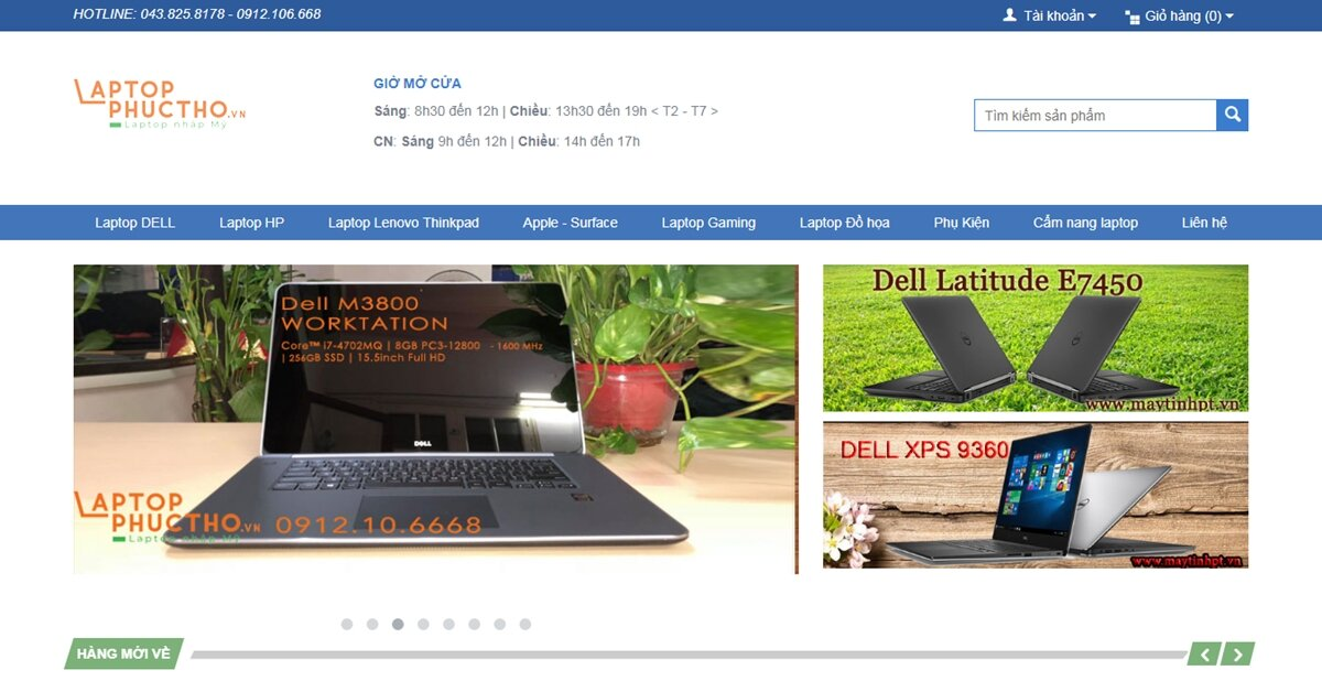 Laptop Phúc Thọ – Trung tâm tin học uy tín cho tới địa chỉ mua hàng đáng tin cậy