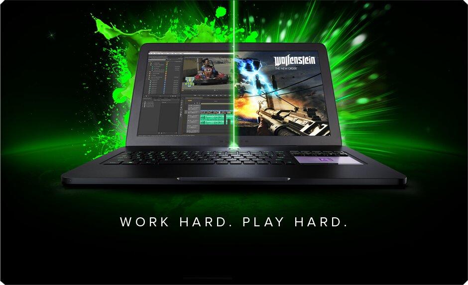 Laptop Razer Blade Pro: sánh bước cùng game thủ