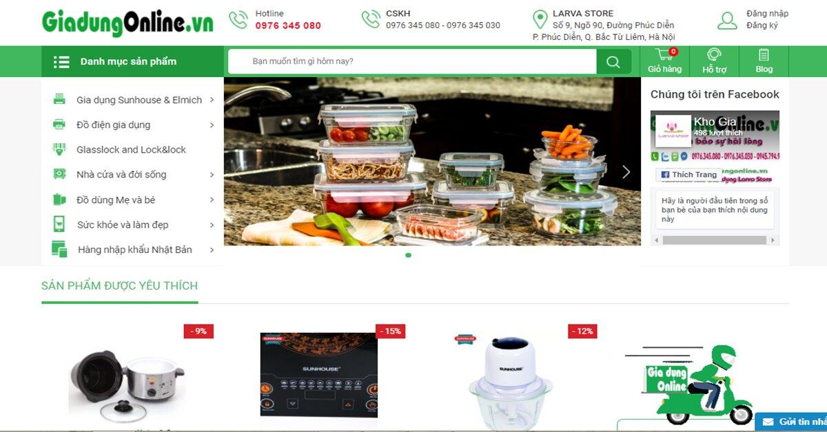 Larva Store – Kênh phân phối hàng chính hãng giá cực tốt!