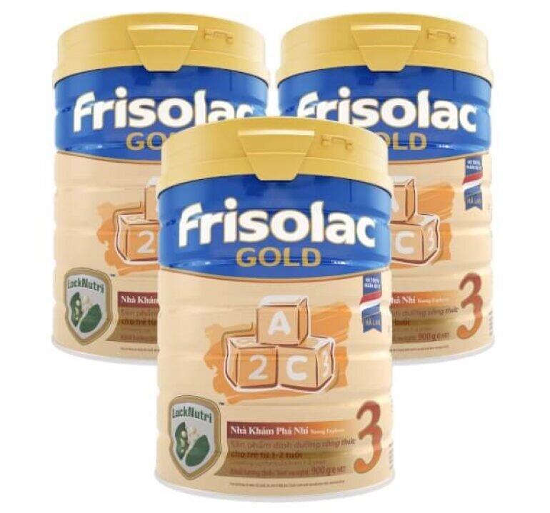 Giá sữa Frisolac Gold 3 900g
