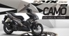 Đánh giá xe máy Yamaha NVX 155cc phiên bản CAMO quá đẹp mắt
