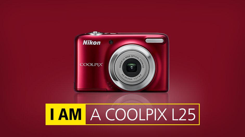 Máy ảnh Nikon Coolpix L25 nổi trội với tính năng nhận diện nụ cười