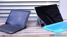 Lenovo ThinkPad 10 và Microsoft Surface Pro 3: máy tính bảng nào tốt cho doanh nhân? ( Phần I)