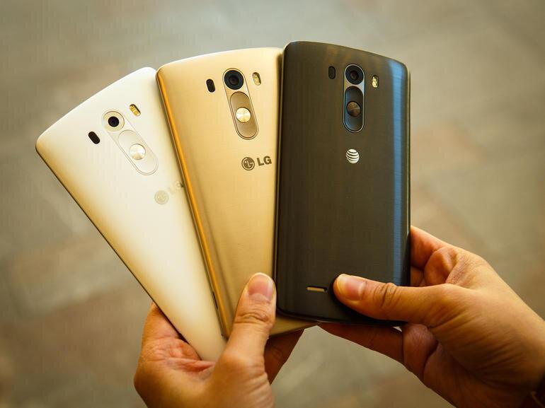 LG nâng cấp G4 Pro sử dụng khung viền kim loại, màn hình 3K