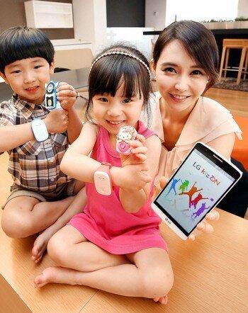 LG ra mắt thiết bị đeo tay thông minh dành riêng cho trẻ em