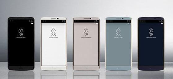 LG V10 – Cách mạng về công nghệ hiển thị