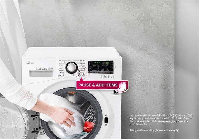 Mẫu máy giặt lồng ngang LG