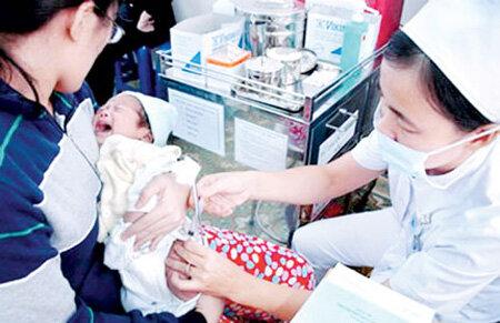 Lịch tiêm chủng chi tiết cho các bé sinh năm 2015