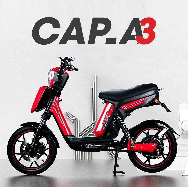 Xe đạp điện Cap A chắc chắn, di chuyển êm ái