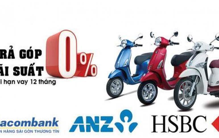mua xe máy trả góp online bằng thẻ tín dụng