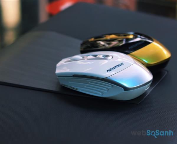 Bộ đôi wireless office & gaming mouse CHẤT - ĐẸP - RẺ này sinh ra là để dành riêng cho những Officer nghiền game đích thực