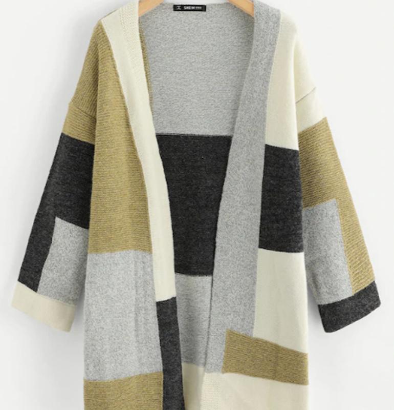 Áo len cardigan dáng dài nhiều màu