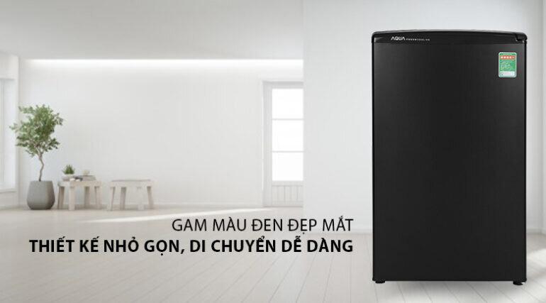 Tủ lạnh mini Aqua 90 lít AQR-D99FA(BS) - Giá tham khảo: 2.790.000 vnđ