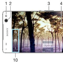 Lộ ảnh Sony Xperia C5 Ultra với viền cực mỏng và đèn LED ở camera trước