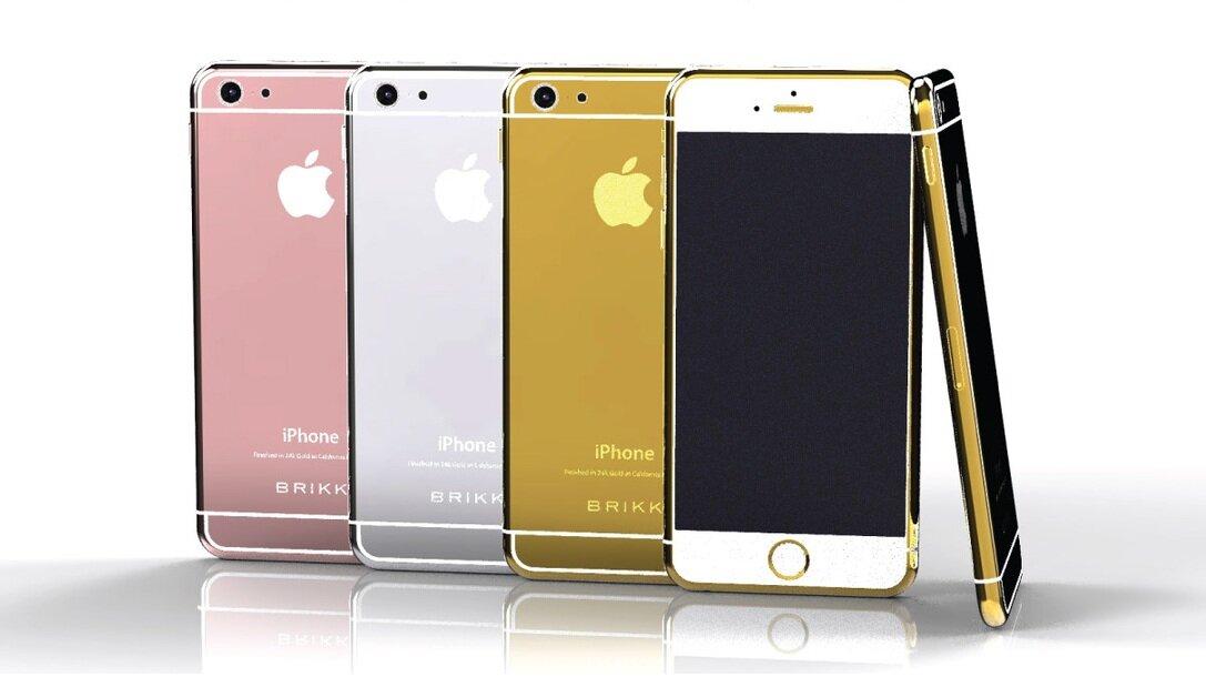 Lộ diện mẫu iPhone 6 tuyệt đẹp bằng vàng 24-carat và bạch kim
