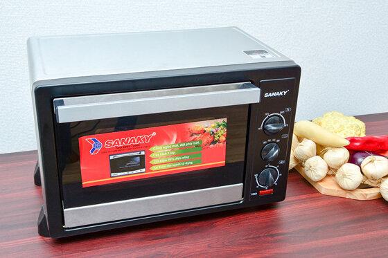 Lò nướng Sanaky của nước nào sản xuất, chất lượng có tốt không?