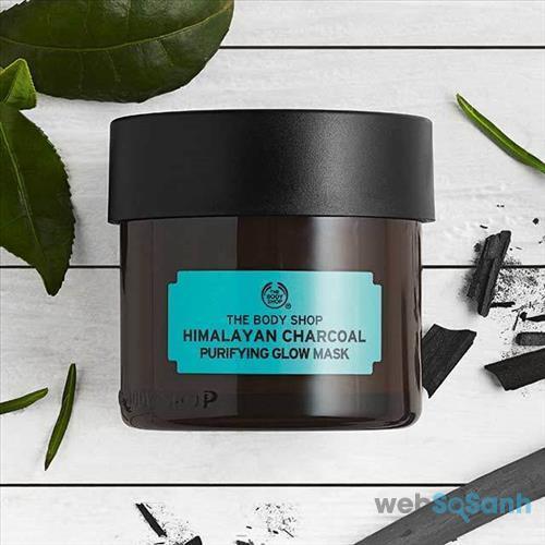 Mặt nạ than đất sét The Body Shop Himalayan Charcoal Purifying Glow Mask