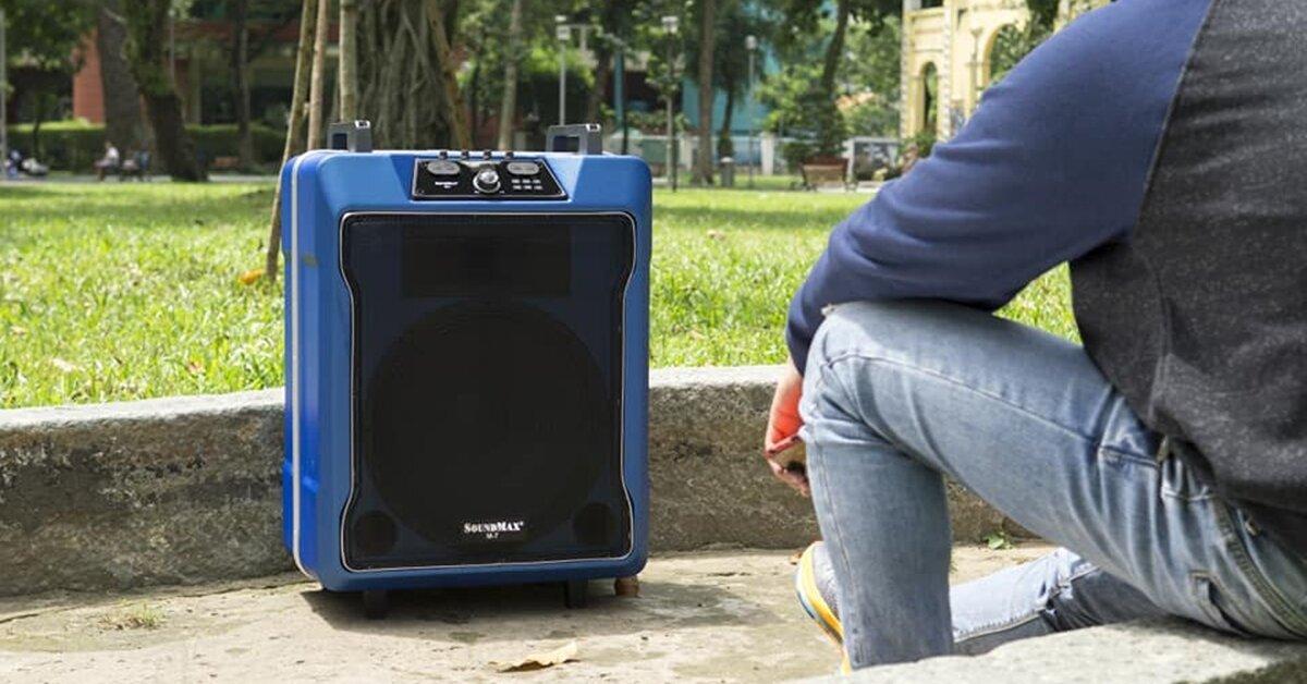 Loa kéo SoundMax M-7: Tưng bừng sắc âm, nối kết đam mê ca hát