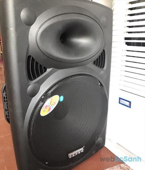 Loa vali kéo hát karaoke Temeisheng DP2305L 4 tấc có tốt không ?