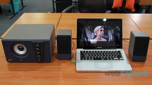 Loa vi tính GoldSound G551S-USB: tiếng ấm mượt, đọc nhạc tiện dụng
