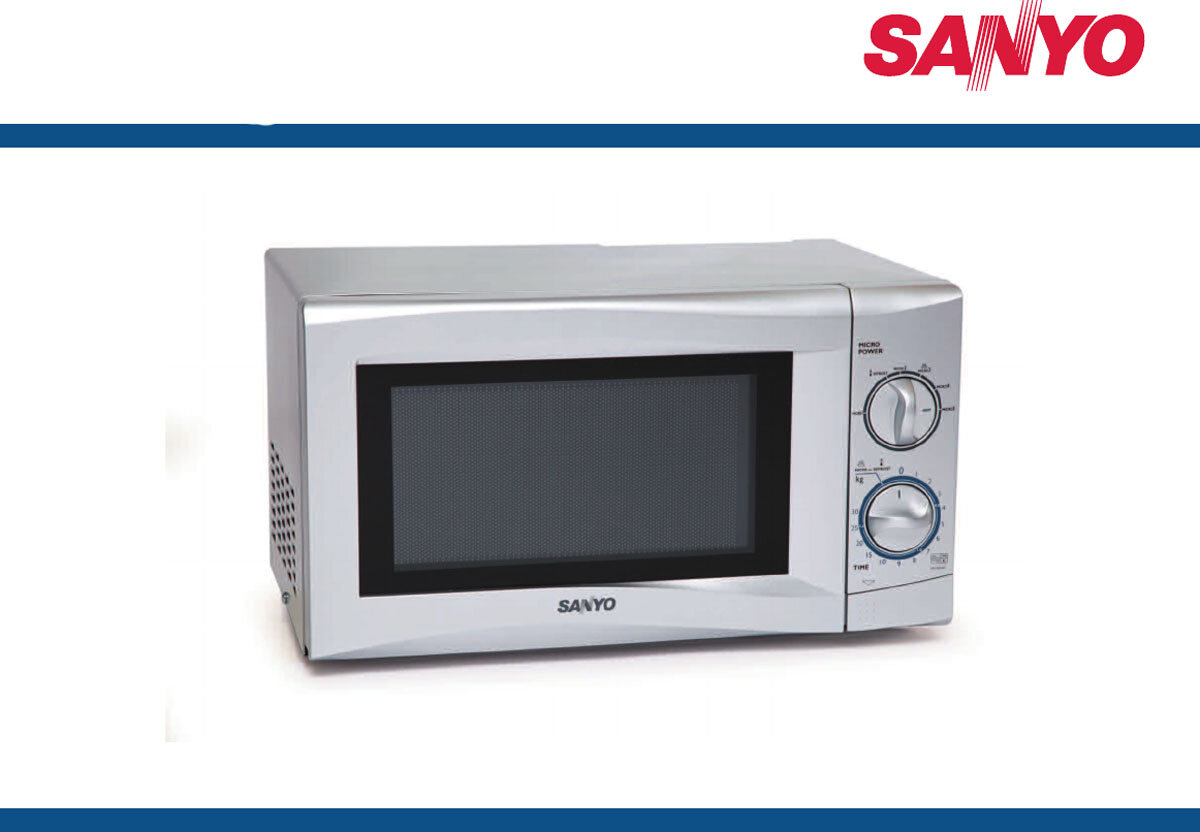 Lỗi thường gặp trên lò vi sóng Sanyo: không hâm nóng đồ ăn được