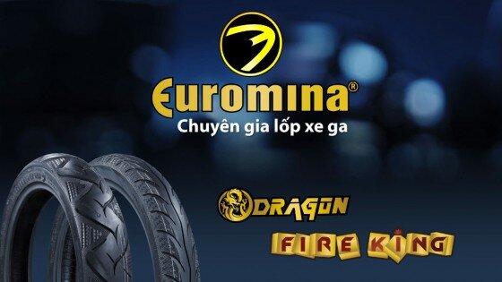 Lốp không săm Euromina cho xe máy giá rẻ nhất bao nhiêu tiền