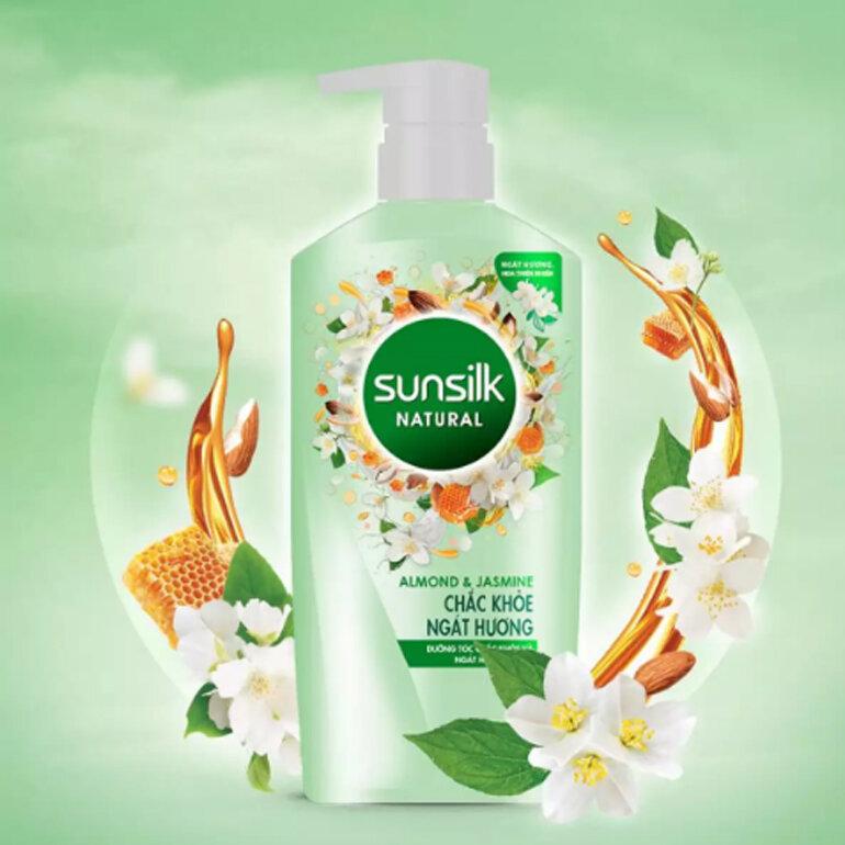 Dầu gội Sunsilk Natural chắc khỏe ngát hương