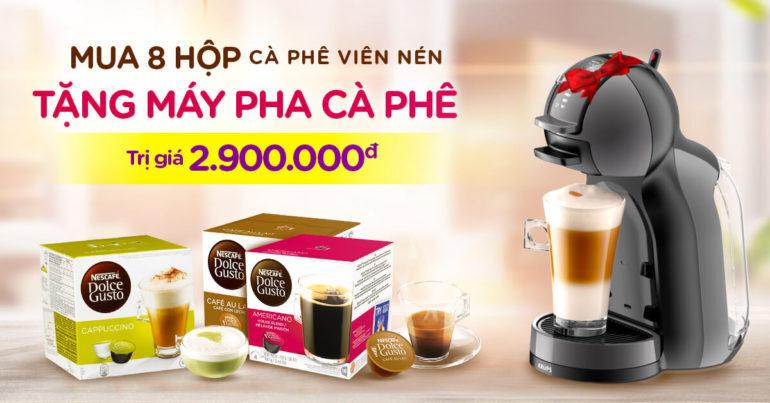 Mua cà phê viên nén tặng máy pha cà phê trị giá 2,9 triệu - Nên mua không ?