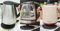 Lựa chọn ấm đun nước siêu tốc chất liệu nào tốt nhất?