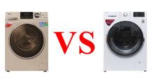 Lựa chọn máy giặt lồng ngang Aqua hay LG cho gia đình có 4 – 5 thành viên thì tốt ?