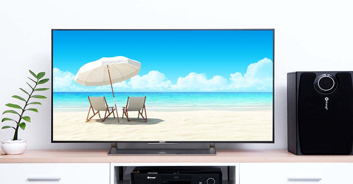 Lựa chọn smart tivi 85 inch tốt nhất cho năm 2018 – tivi Sony KD-85X9000F
