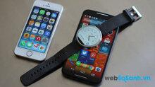 Lựa chọn smartwatch nào giữa Apple Watch và Android Wear ? (Phần 2)