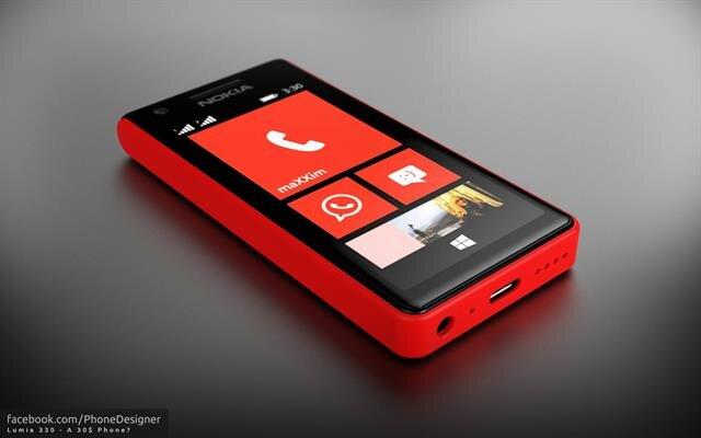Lumia 330 chạy Windows Phone sẽ thay thế Nokia X