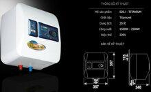 Lưu ý để sử dụng bình nóng lạnh Picenza an toàn, tiết kiệm điện