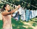 Lưu ý khi giặt quần áo mới cho trẻ sơ sinh