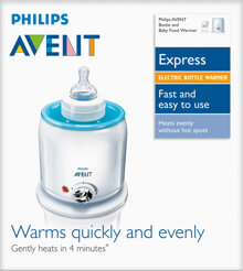 Lưu ý khi sử dụng máy hâm sữa và thức ăn Philips AVENT SCF255/57