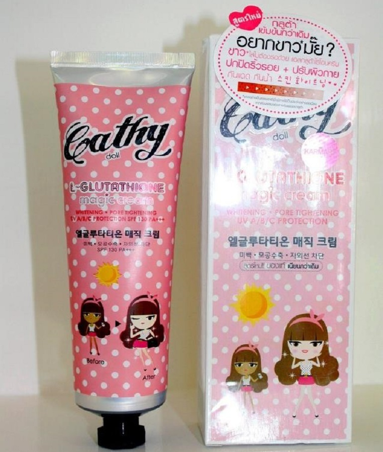 Kem chống nắng Cathy Doll Whitening Sunscreen SPF50 PA+++