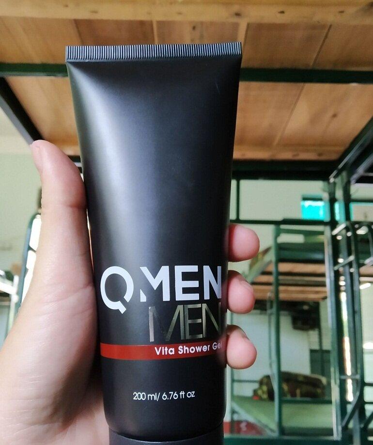 Công dụng của sữa tắm trắng da nam Qmen
