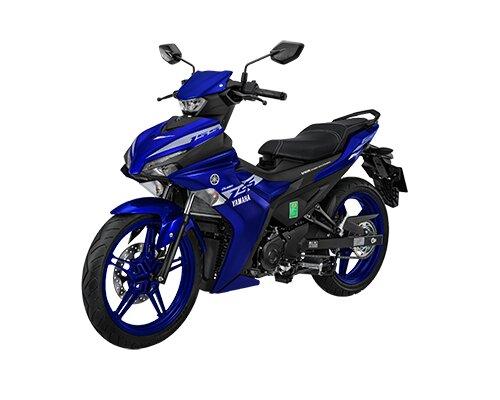 Xe côn tay Yamaha Exciter 155 VVA bản tiêu chuẩn màu đỏ.