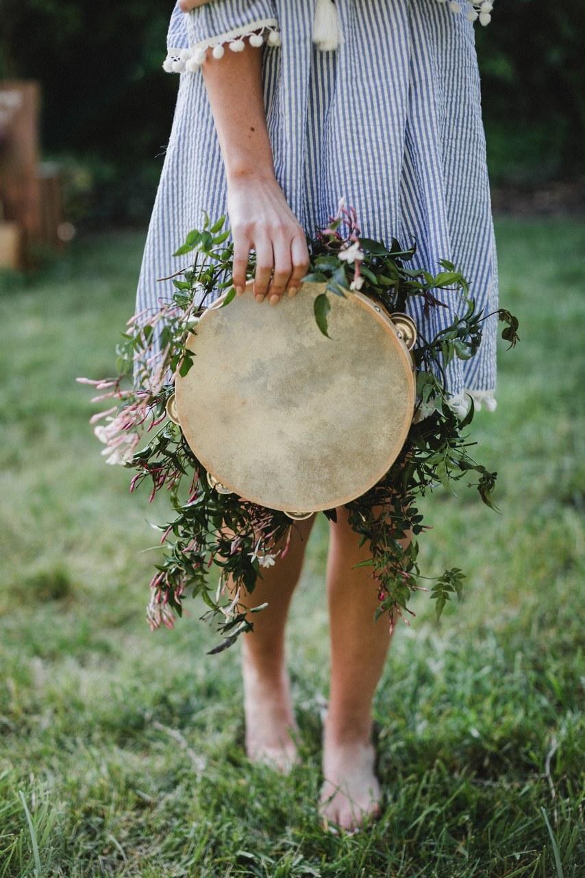 Đây là ý tưởng dành cho các cô dâu yêu âm nhạc nhé!