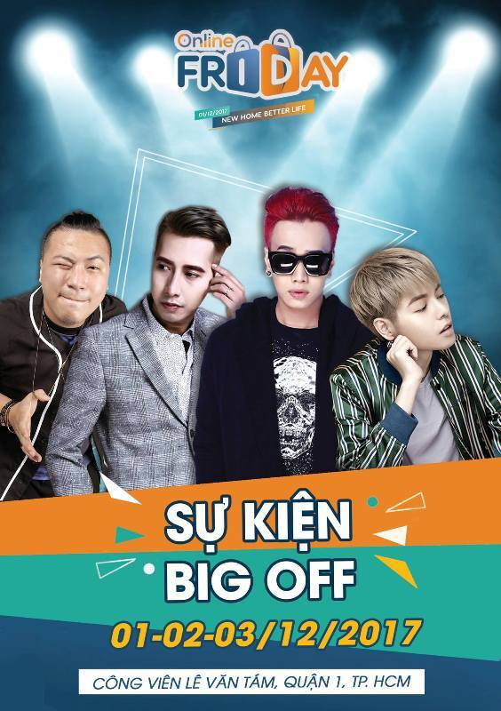 Sự kiện BIG - OFF Online Friday 2017