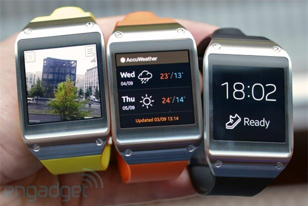 Galaxy Gear có bộ vi xử lý mạnh hơn nhiều so với Smartwatch 2