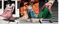 """""""Mách"""" bạn 3 kiểu chân váy midi đang thống trị thời trang đường phố"""