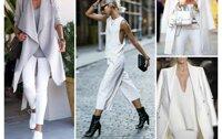 Mách nước cho bạn gái cách phối quần jeans trắng
