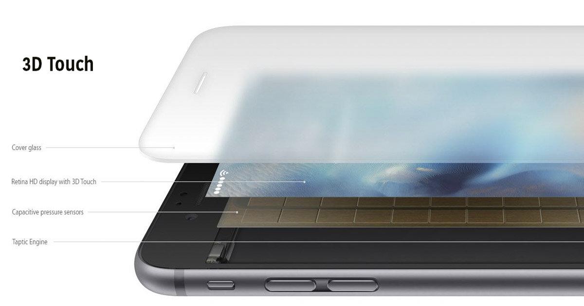 Màn hình cảm ứng lực 3D Touch trên iPhone có thể sẽ bị Apple khai tử