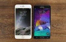 Màn hình iPhone 6 Plus hay Samsung Galaxy Note 4 đẹp hơn?