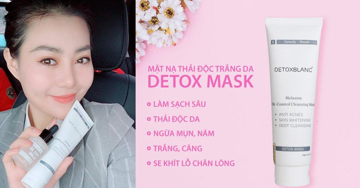 Mặt nạ sủi bọt thải độc trắng da Detox BlanC Mask có tốt không ? Giá bao nhiêu ?